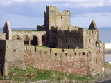 Peel Castle  Isle of Man  Europe