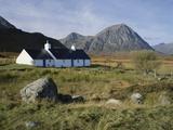 Scotland  Highlands  Glencoe  Croft by Mountains