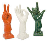 Albany Ceramic Hands Set