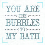 Bubbles to my Bath II