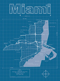 Miami Artistic Blueprint Map