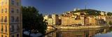 Old Lyon with the Fresque De Lyon