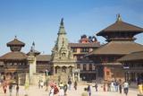 Durbar Square  Bhaktapur  UNESCO World Heritage Site  Kathmandu Valley  Nepal  Asia