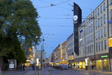 Arkaden Shopping Centre and Tram at Dusk  Gothenburg  Sweden  Scandinavia  Europe
