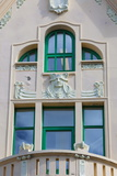 Jugendstil Architecture  Alesund  Sunnmore  More Og Romsdal  Norway  Scandinavia  Europe