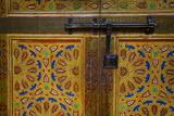 Interior Door Detail  Moulay Ismail Mausoleum  Medina  Meknes  Morocco  North Africa  Africa