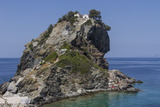 Agios Ioannis Chapel  Used in the Film Mama Mia  Skopelos  Sporades  Greek Islands  Greece  Europe