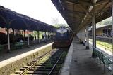 Train at Platform  Kandy Train Station  Kandy  Sri Lanka  Asia