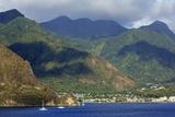 Coastline of Soufriere  St Lucia  Windward Islands  West Indies  Caribbean  Central America