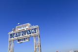 Beau Rivage Beach Sign