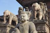Statues of Nyatapola Temple