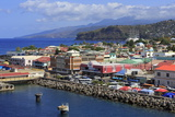 Port of Roseau  Dominica  Windward Islands  West Indies  Caribbean  Central America