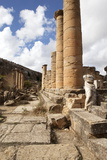 The Temple of Apollo  Cyrene  UNESCO World Heritage Site  Libya  North Africa  Africa