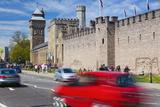 Cardiff Castle  Cardiff  Wales  United Kingdom  Europe
