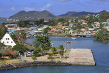 Castries Harbor  St Lucia  Windward Islands  West Indies  Caribbean  Central America