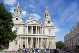 View of St Paul's Cathedral  London  England  United Kingdom  Europe