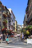 Street Scene  Nice  Alpes-Maritimes  Provence  Cote D'Azur  French Riviera  France  Europe