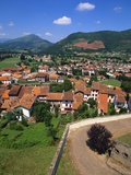 Town in the Pays Basque  Pyrenees Atlantiques  Aquitaine  France