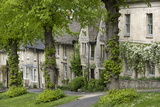 Cotswold Cottages Along the Hill  Burford  Oxfordshire  England  United Kingdom  Europe
