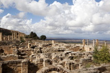 The Acropolis of Cyrene  UNESCO World Heritage Site  Libya  North Africa  Africa
