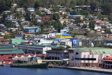 Docks in Castries Harbor  St Lucia  Windward Islands  West Indies  Caribbean  Central America