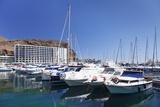 Marina  Puerto Rico  Gran Canaria  Canary Islands  Spain  Atlantic  Europe
