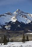 Wilson Peak in the Winter