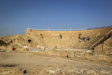 The Roman Amphitheatre  Caesarea  Israel  Middle East