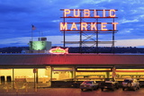 Pike Place Market  Seattle  Washington State  United States of America  North America