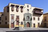Casa De Colon  Vegueta Old Town  Las Palmas  Gran Canaria  Canary Islands  Spain  Europe
