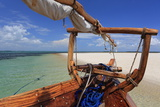 Dhow  Zanzibar  Tanzania  East Africa  Africa