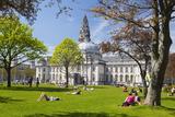 City Hall  Cardiff  Wales  United Kingdom  Europe