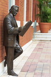 R Manteiga Statue in Centro Ybor  Tampa  Florida  United States of America  North America