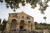 The Basilica of the Agony (Church of All Nations) at the Garden of Gethsemane
