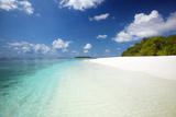 Tropical Beach  Baa Atoll  Maldives  Indian Ocean  Asia
