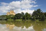 Melk Abbey Reflected in the River Danube  Wachau  Lower Austria  Austria  Europe
