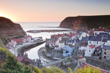 The Fishing Village of Staithes in the North York Moors
