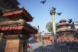 Durbar Square  UNESCO World Heritage Site  Kathmandu  Nepal  Asia