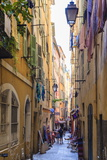The Old Town  Nice  Alpes-Maritimes  Provence  Cote D'Azur  French Riviera  France  Europe