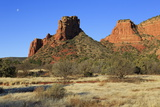 Red Rock Formations in Sedona  Arizona  United States of America  North America