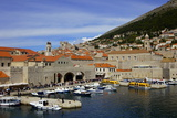 Old Port Harbour Area  Dubrovnik  UNESCO World Heritage Site  Croatia  Europe