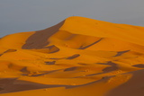 Sand Dunes  Sahara Desert  Merzouga  Morocco  North Africa  Africa