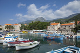 Harbour with Fishing Boats  Bol  Brac Island  Dalmatian Coast  Croatia  Europe