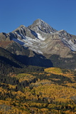 Wilson Peak in the Fall  San Juan National Forest  Colorado  Usa