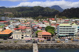Downtown Roseau  Dominica  Windward Islands  West Indies  Caribbean  Central America