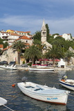 Splitska Harbour  Brac Island  Dalmatian Coast  Croatia  Europe