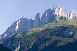 The Sassolungo Peaks  Dolomites  Italy