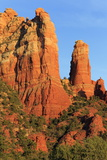 Rock Formations in Sedona  Arizona  United States of America  North America