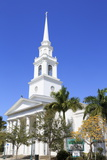 First Baptist Church  Main Street  Sarasota  Florida  United States of America  North America