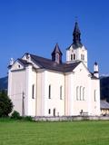 Bohinjska Bistrica Church  Bohinj  Slovenia  Europe